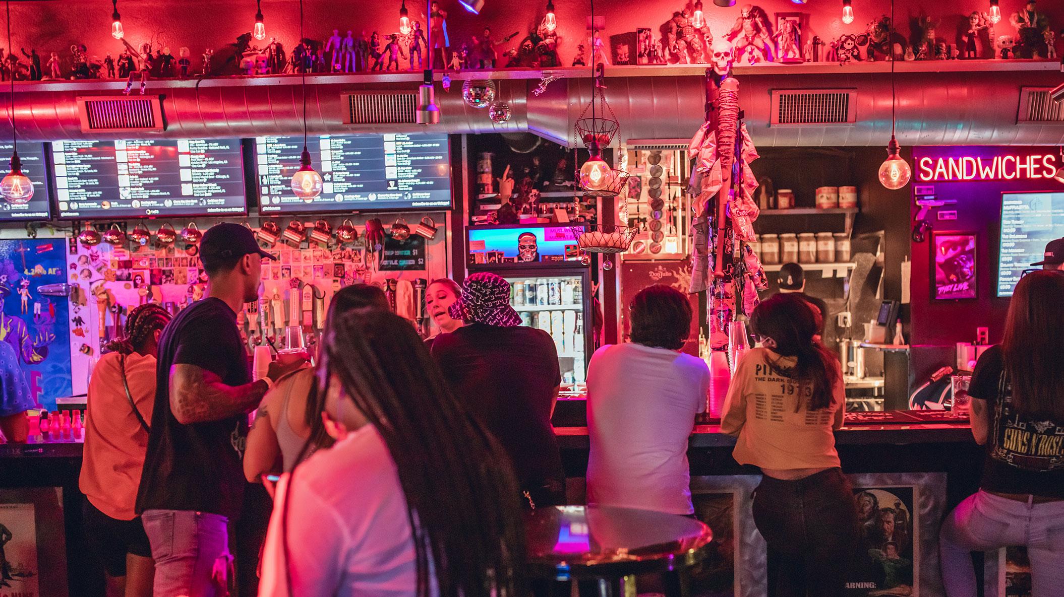 Glitch Bar & Arcade